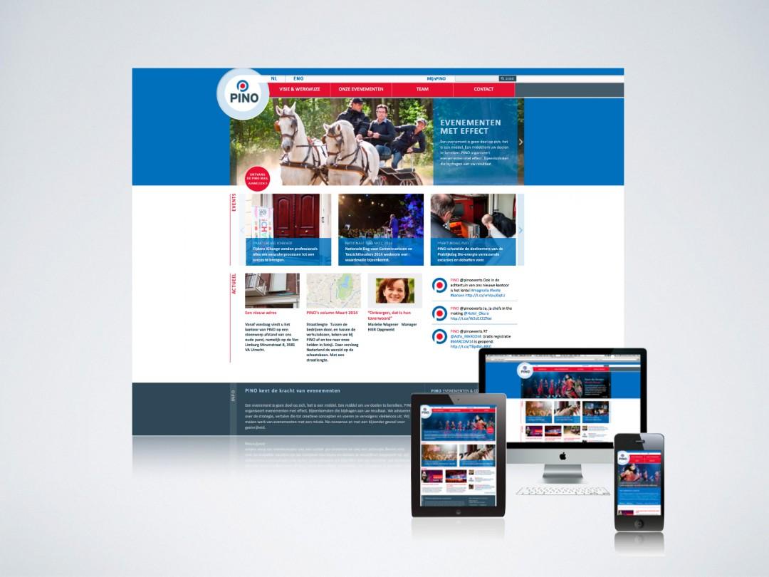 PINO | Responsive Website