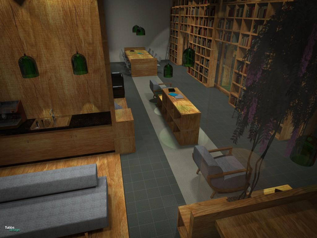 Onderzoeksbibliotheek | Interieur Ontwerp