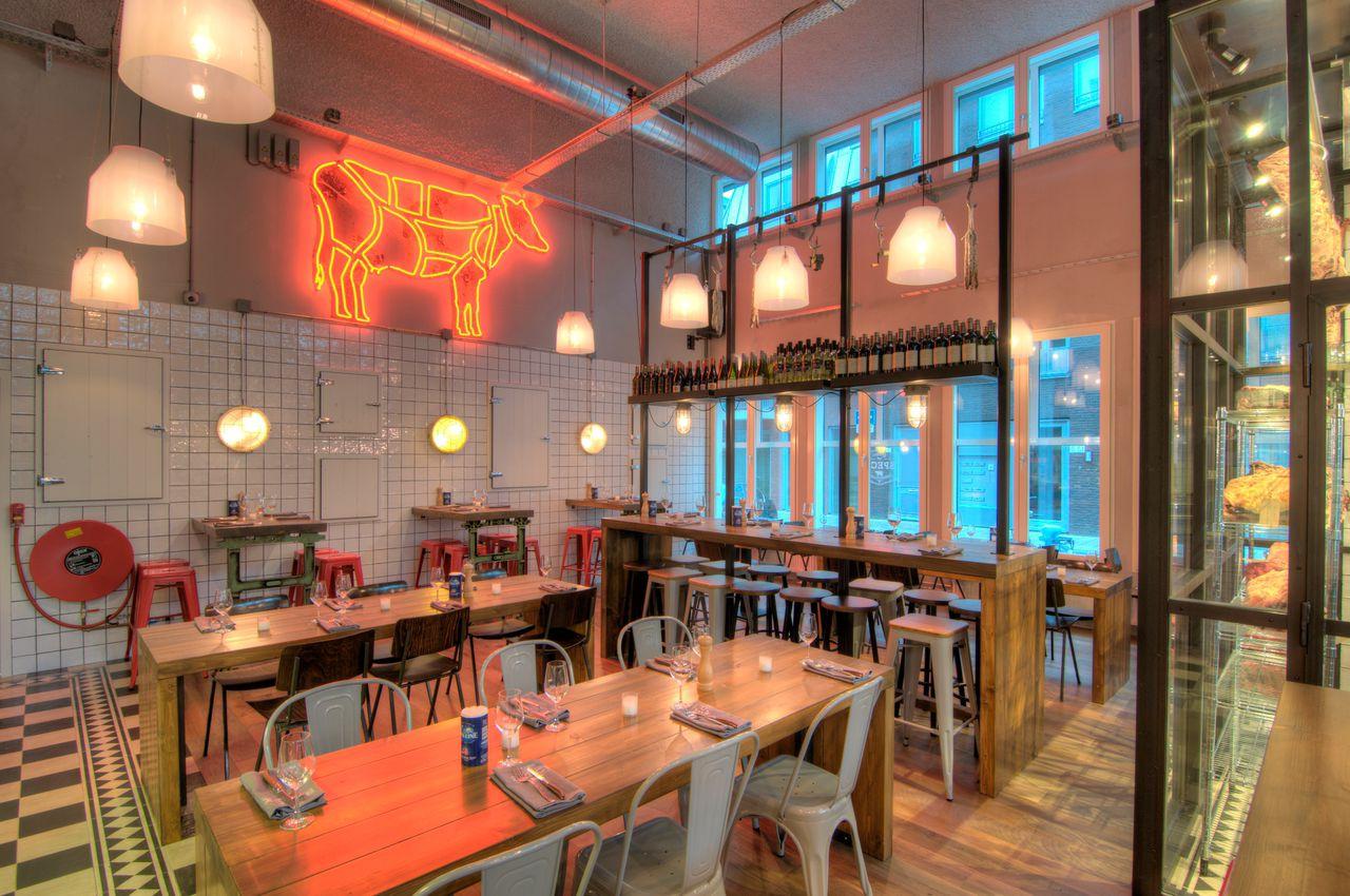 Speck bar grill interieur ontwerp restaurant tubbs for Interieur ontwerp