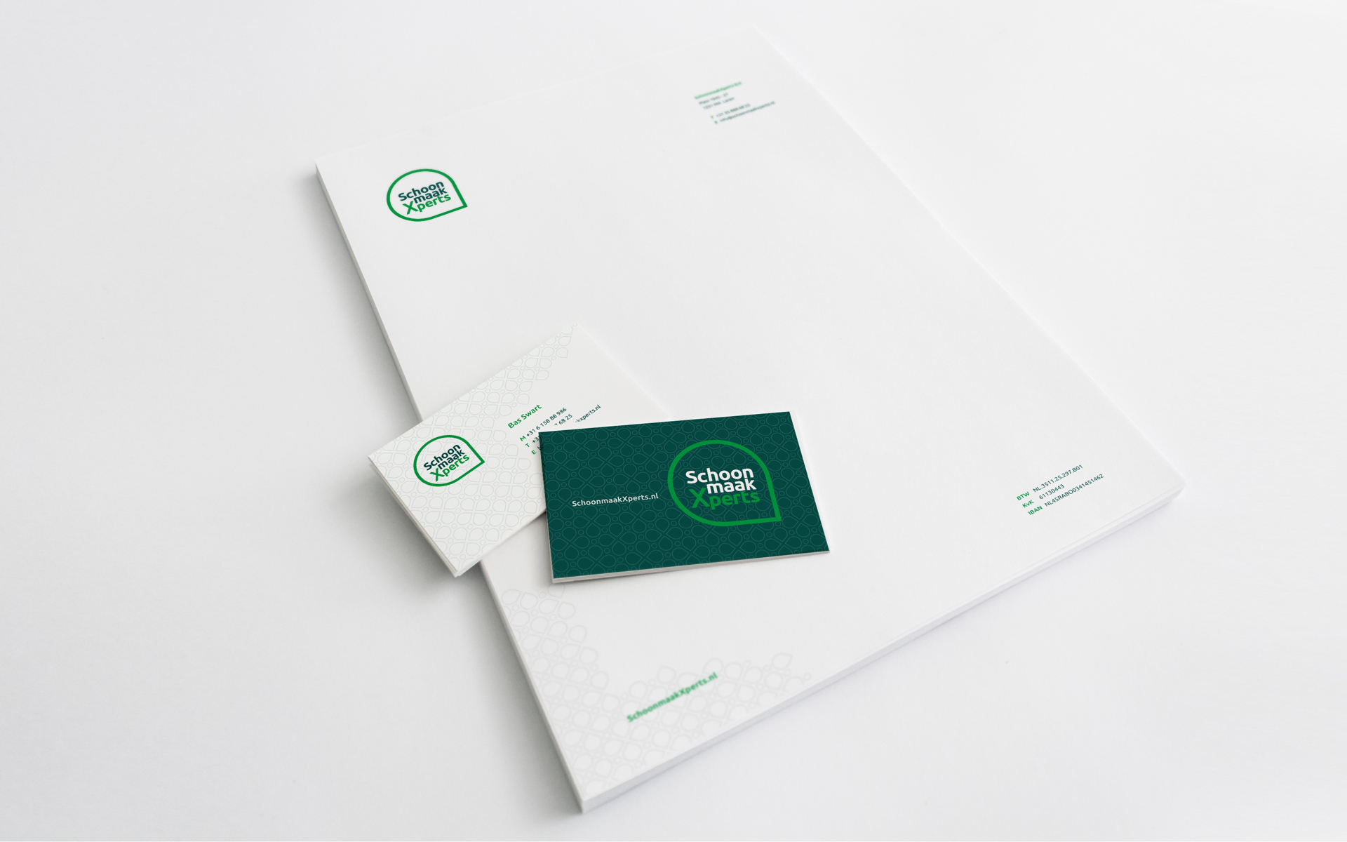 SchoonmaakXperts | Huisstijl Ontwerp en Website