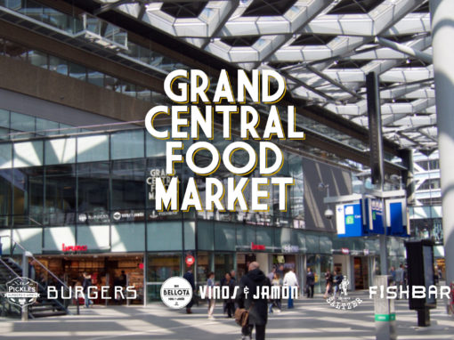 Grand Central Food Market | Interieur Ontwerp Bar – Restaurant