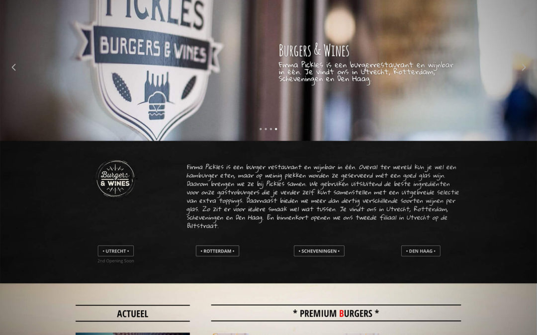 Firma Pickles | Website