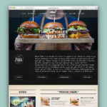 Firma Pickles Website Homepage