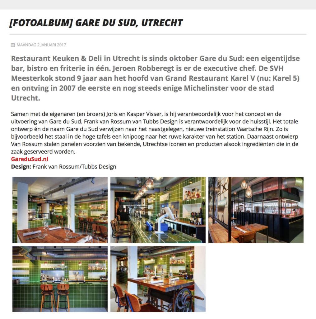 Gare DU Sud @ Entree Magazine
