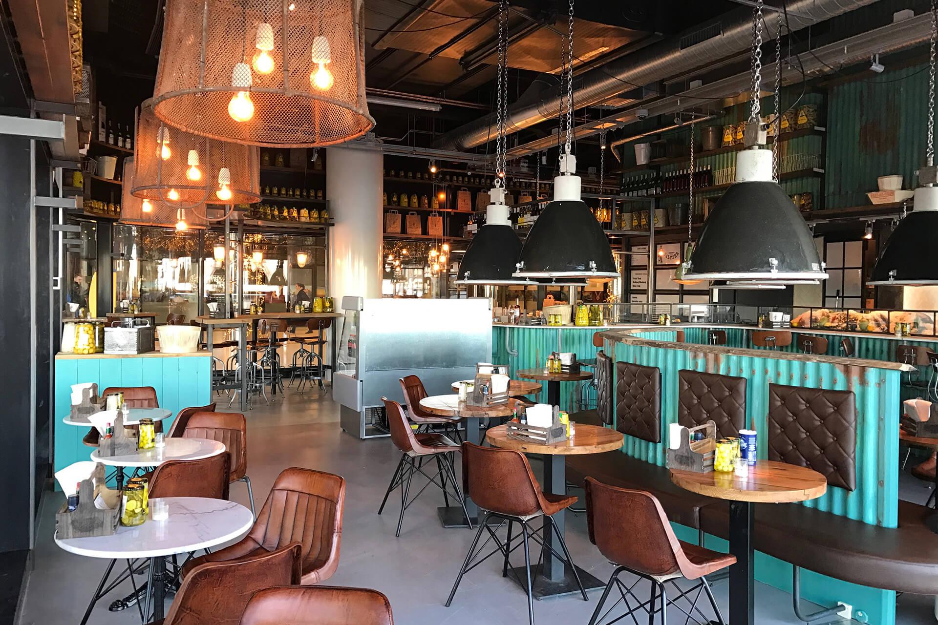 Restaurant Interieur Design.Fishbar Saltzer Amsterdam Cs Interieur Ontwerp Bar