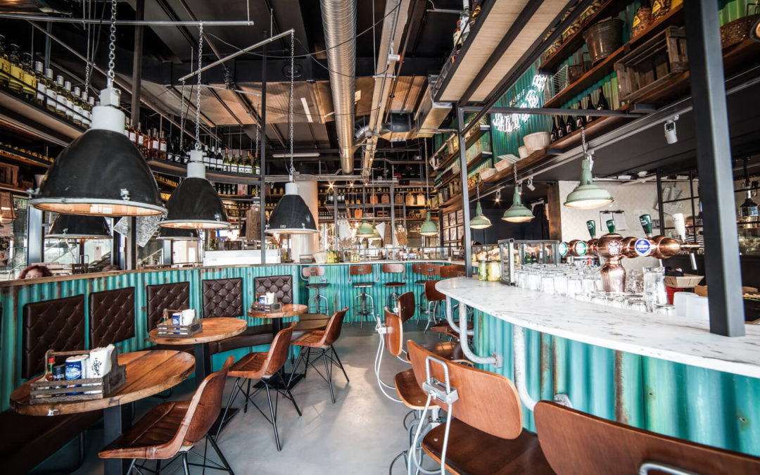 Fishbar Saltzer Amsterdam CS | Interieur Ontwerp Bar – Restaurant