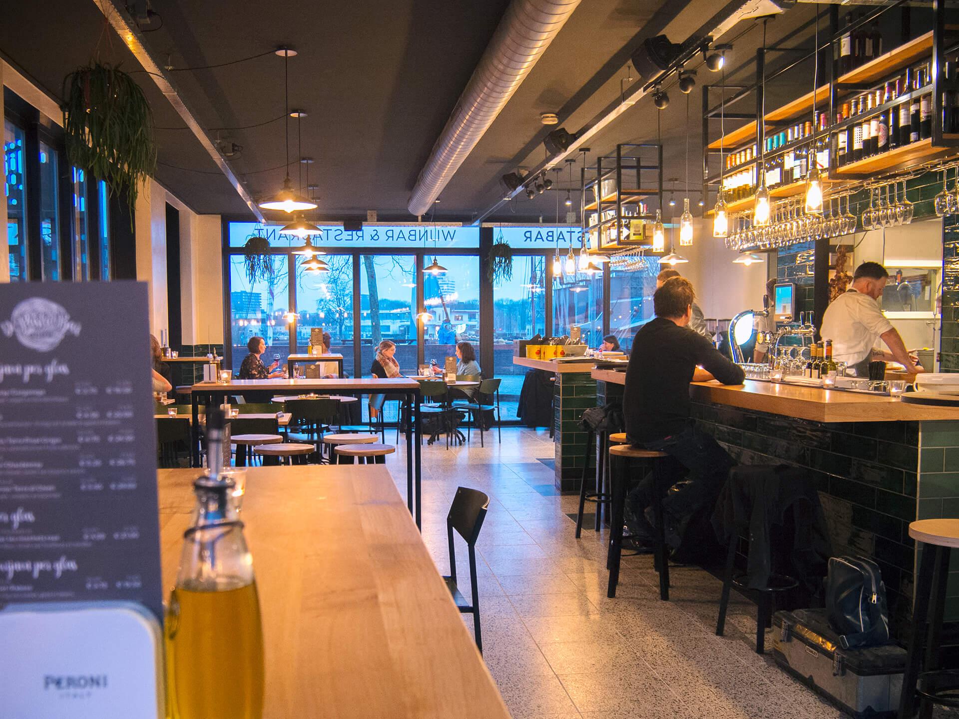 de pastabar utrecht interieur ontwerp bar restaurant tubbs design interior web. Black Bedroom Furniture Sets. Home Design Ideas