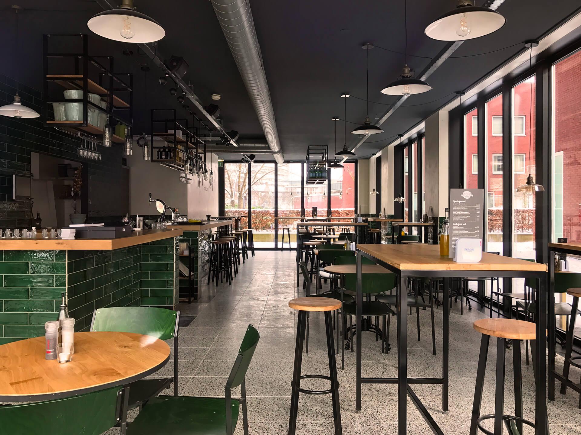 De pastabar utrecht interieur ontwerp bar restaurant for Interieur restaurant